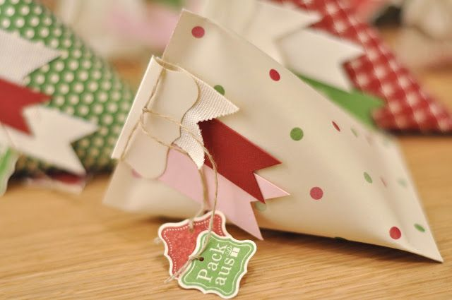 """tiny """"Sour Cream"""" container gift bag ~ cute!"""