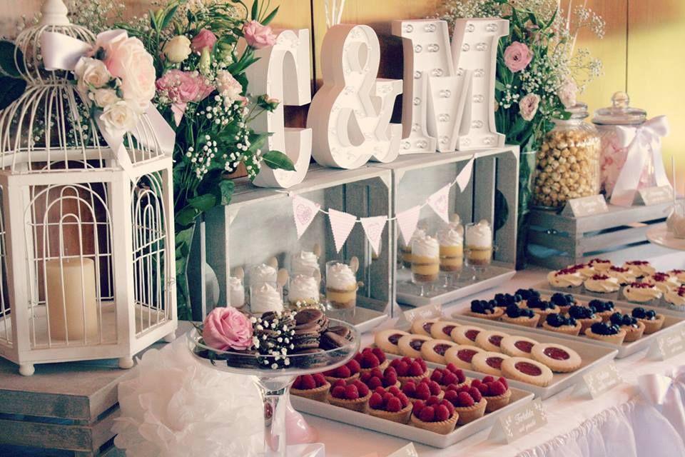 25 Mesa de dulces boda