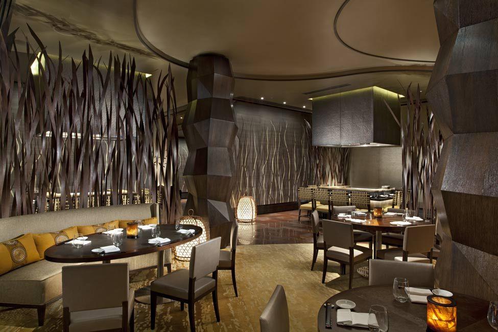 Nobu Michael Fiebrich Design restaurant bar design Pinterest