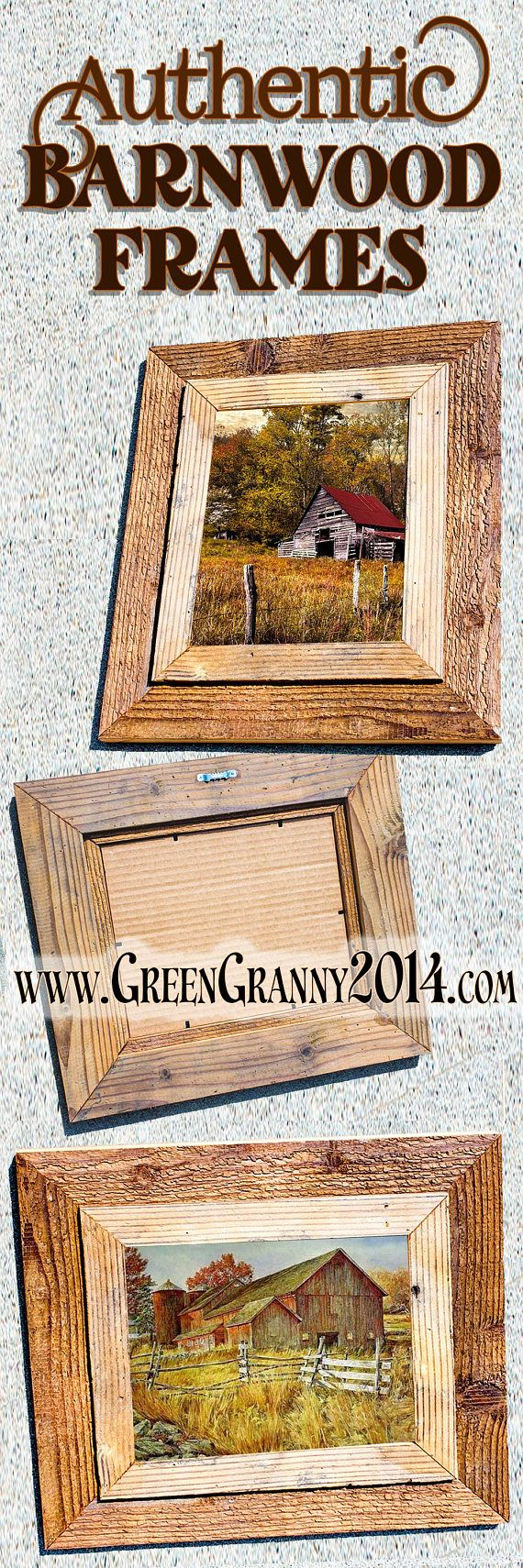 I build beautiful authentic barnwood frames and other home ...