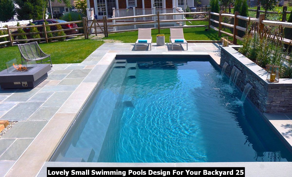 Lovely Small Swimming Pools Design For Your Backyard Homyhomee Leisure Pools Swimming Pool Designs Pools Backyard Inground