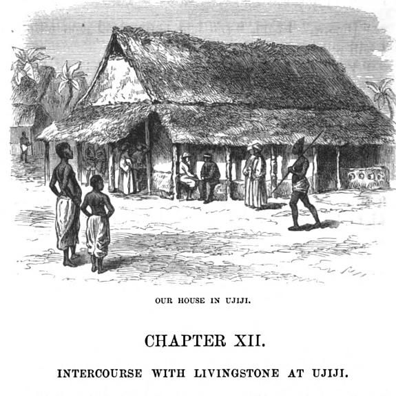 Staney and Livingstone dwelling in Ujiji Africa Pinterest - mr livingstone i presume