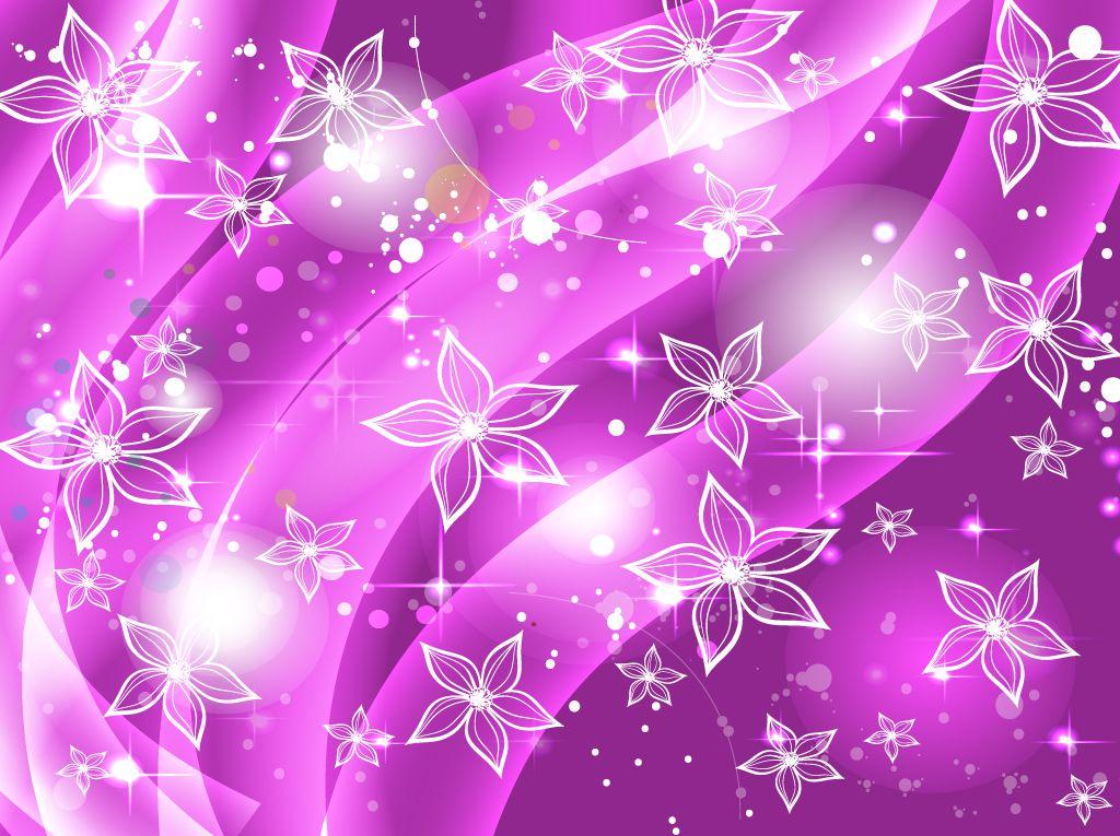 Purple Star Wallpaper Designs