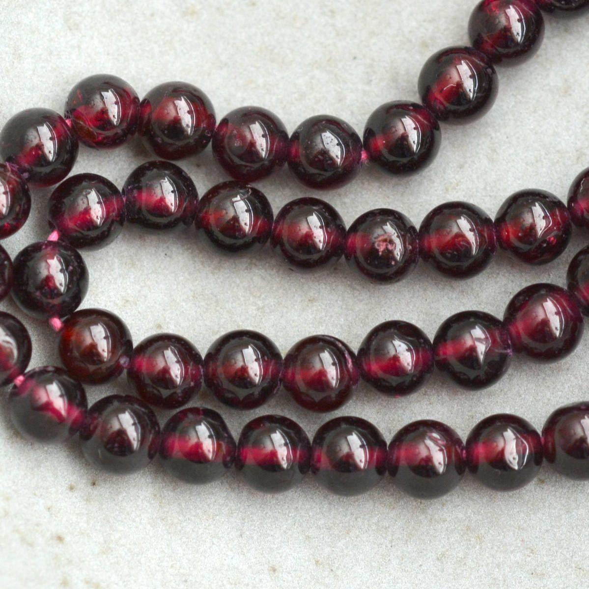 Vintage Design Czech Glass Garnet Red with Silver Heart Beads 17mm x 18mm