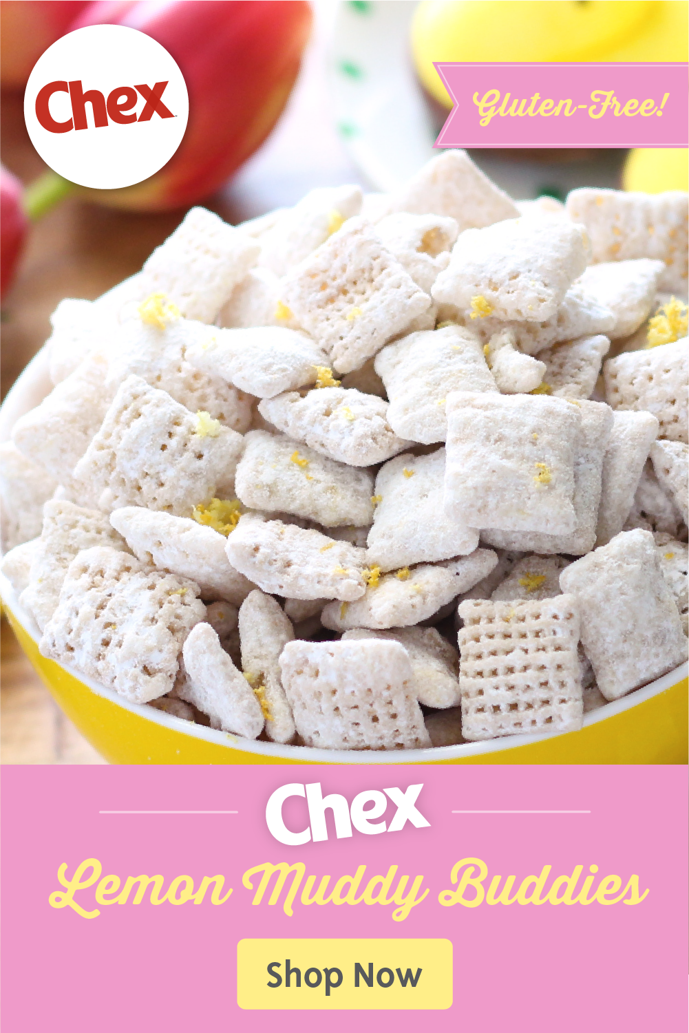 Gluten Free Chex Lemon Buddies Recipe In 2020 Food Food Recipes Chex Recipes