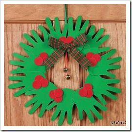 manualidades con las manos 1thumbjpg 270270 christmas