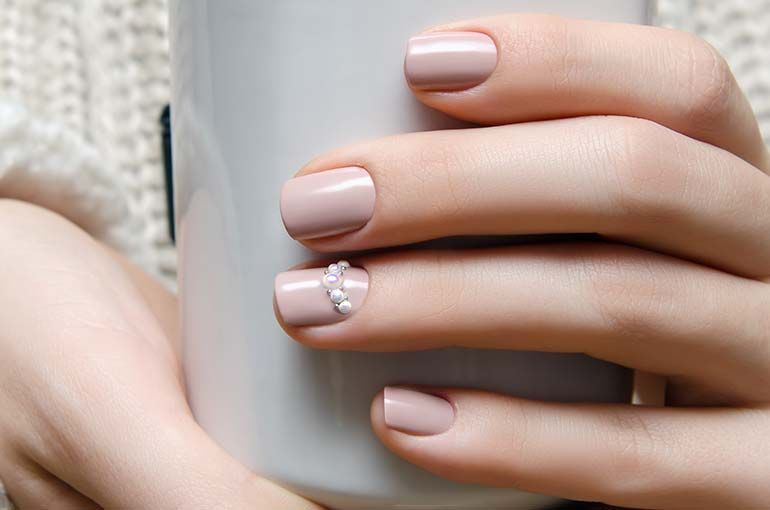 Opting for bright colours or intricate nail art isn\'t a must anymore ...