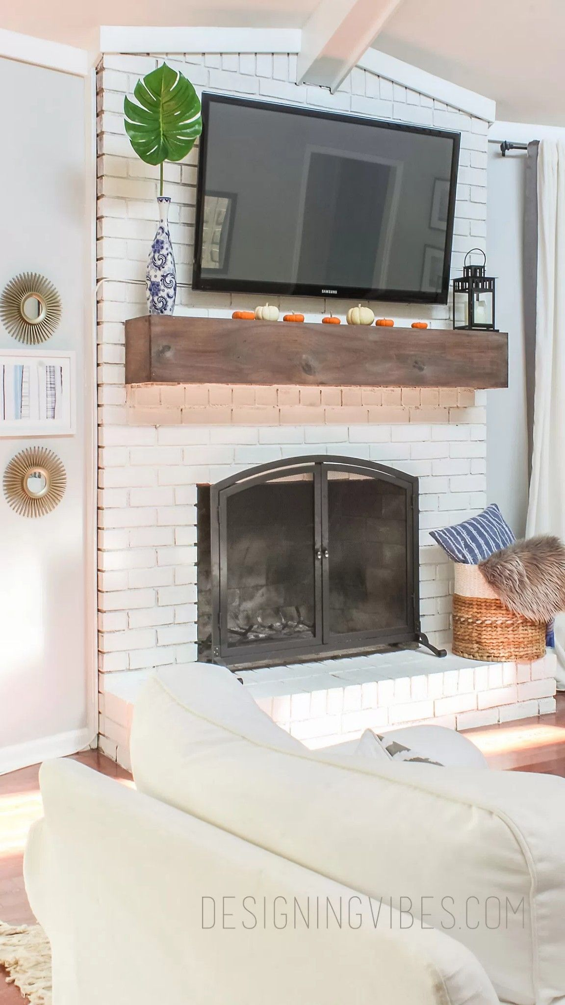 Pin by Staci on Fireplaces in 2019 Diy mantel