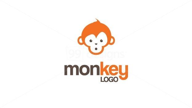 Monkey logo branding pinterest logos custom logos and business cards monkey logo reheart Gallery