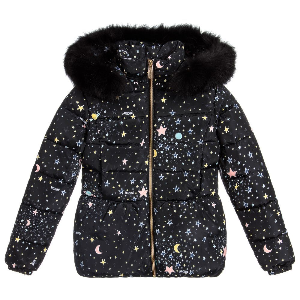 54f87b51d Girls Star Print Down Jacket