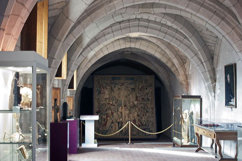 Abbaye Saint Robert De La Chaise Dieu Scriptorium