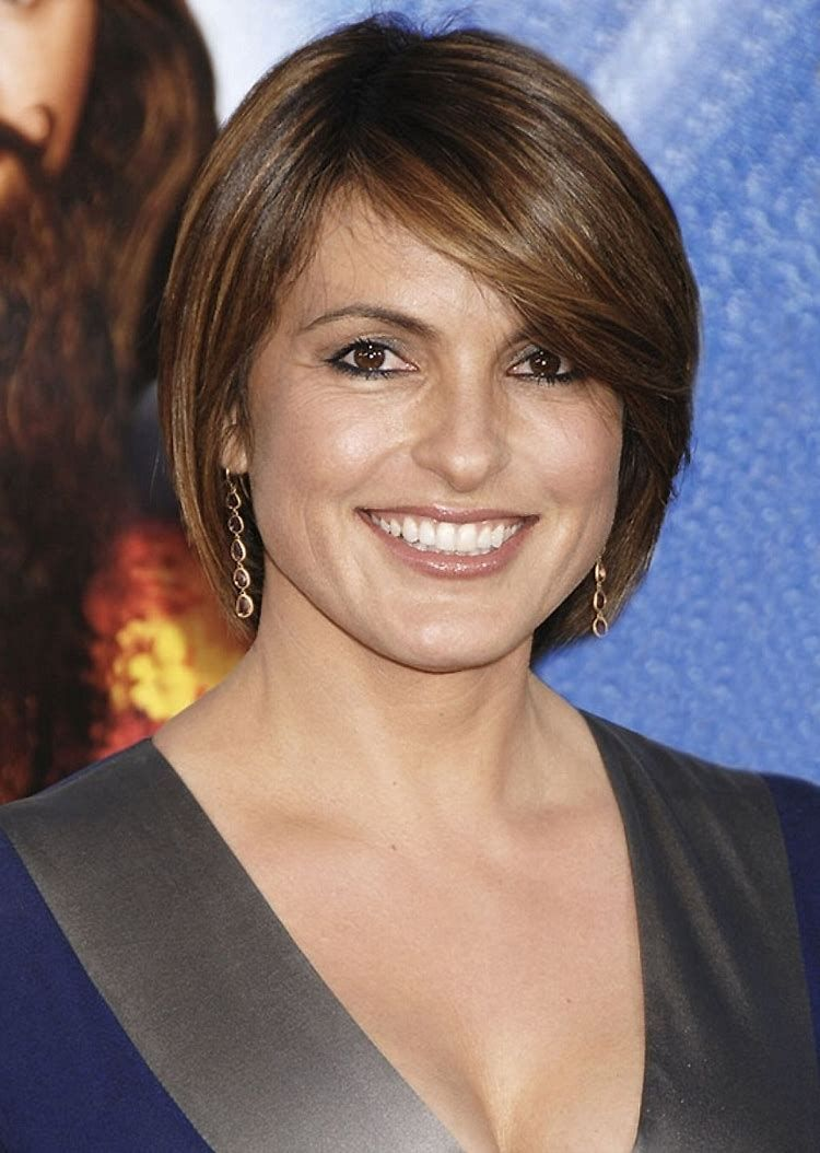 Image result for plus size short hairstyles for women over hair