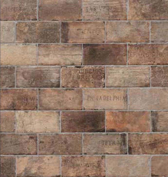 Subway Tile Chicago Brick Brick Look Tile Brick Tiles