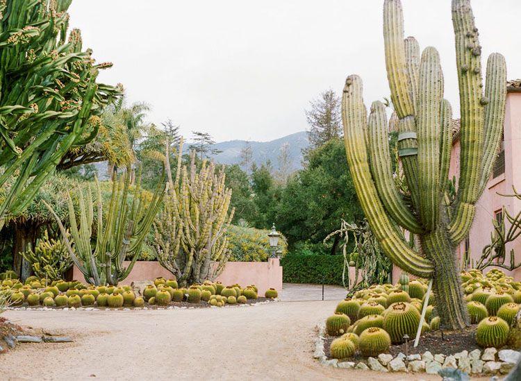 Cactus Gardens at Lotusland Gardens, Montecito, California ...