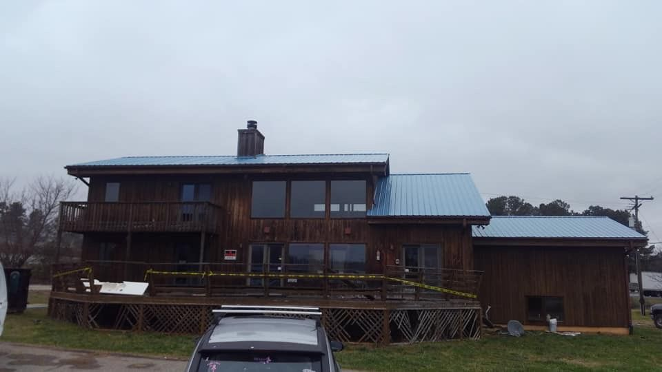 Best Hawaiian Blue Metal Roof Installed By Brian Kelly And His 400 x 300