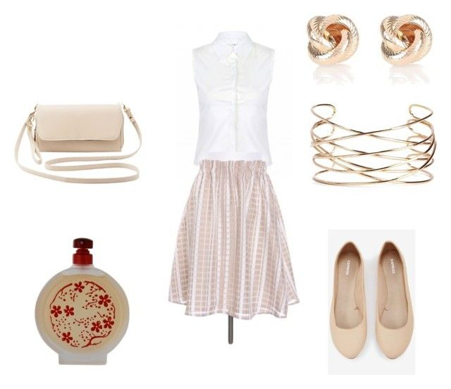"""""""Outfit 157"""" by shopper-girl91 on Polyvore featuring Express, River Island, Boohoo, Charlotte Russe and Lucky Brand"""