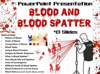 forensic blood spatter analyst