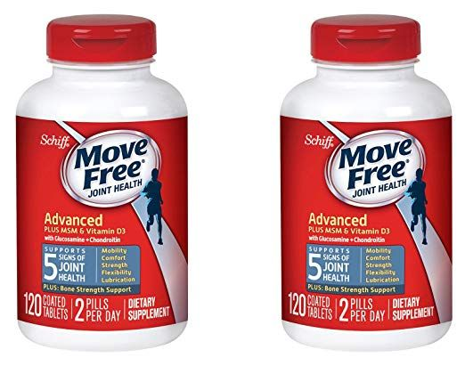 Move Free Advanced Plus Msm And Vitamin D3 80 Tablets