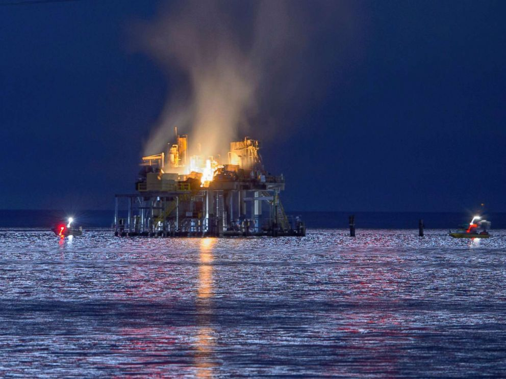 Oil Field Injuries In The News Oilfield Louisiana Explosion