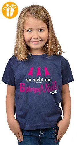 Mädchen Zum 6 Geburtstag 6 Jahre Alt T Shirt Geschenk Idee