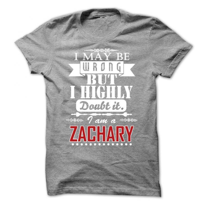 Personalised Name Tees I MAY BE WRONG BUT I HIGHLY DOUBT IT SURNAME T-SHIRT
