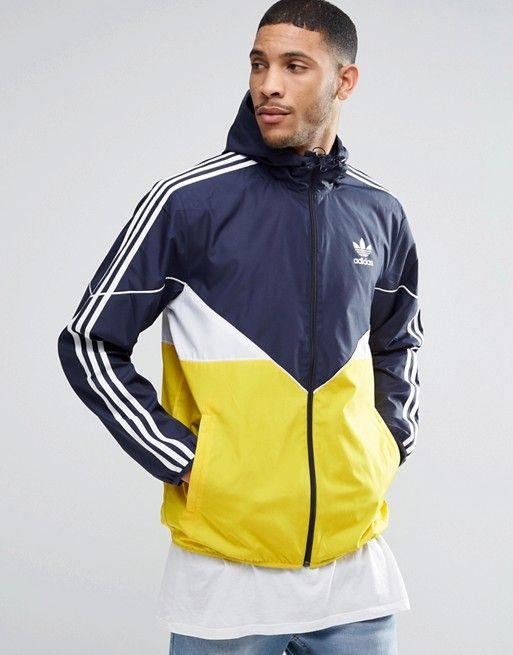 cheap for discount ea223 9de27 Chaqueta cortavientos CRDO AY7730 de adidas Originals   Jackets   Chaqueta  cortavientos, Camperas nike y Adidas