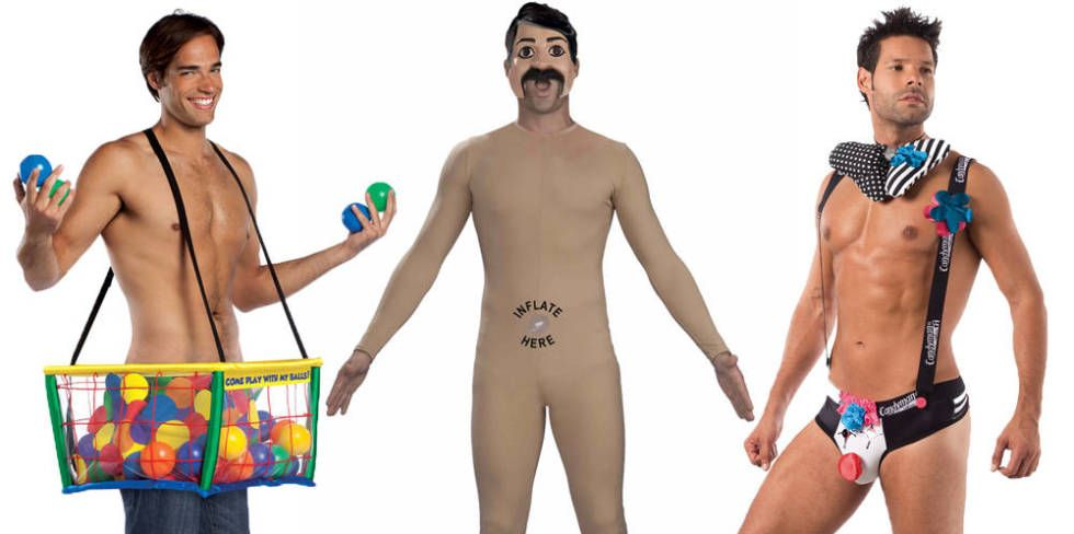 Naked male halloween costumes naked