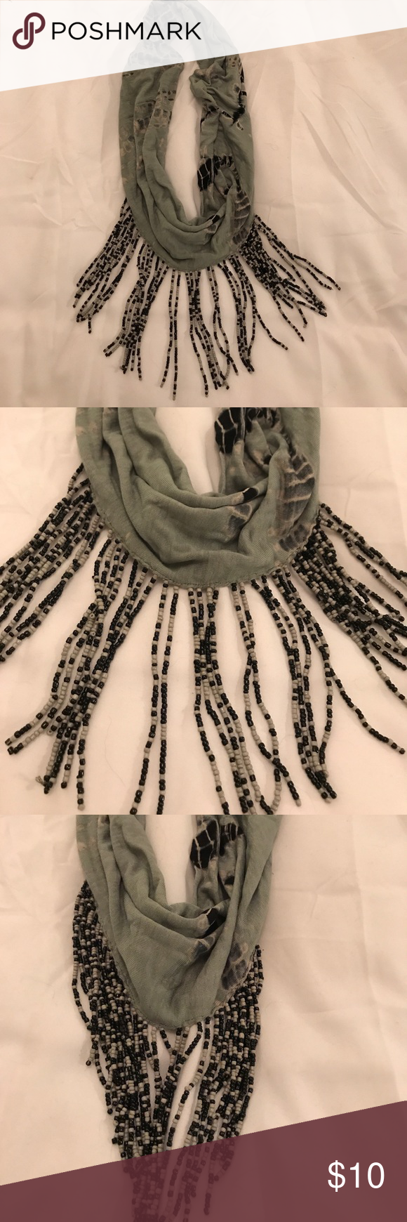 Super cute scarf necklace For looks not for warmth! Jewelry Necklaces
