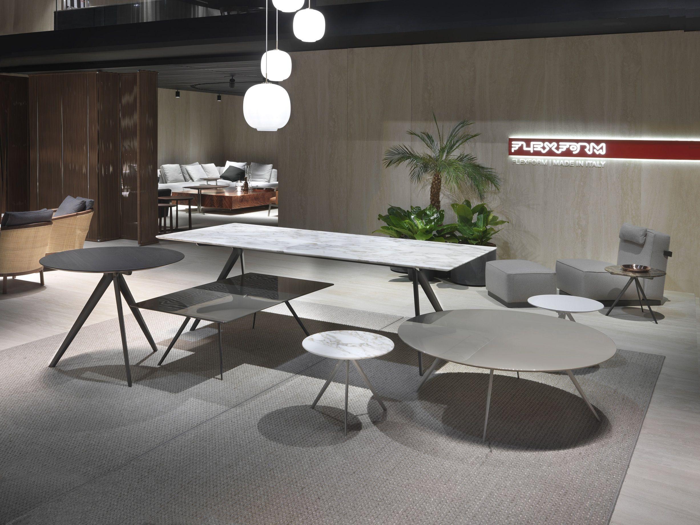 FLEXFORM ZEFIRO new table collection design Antonio Citterio