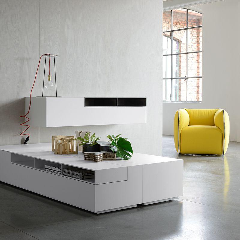 Sistema Inmotion De Mdf Italia Interiores De Casa Diseno Interiores Casas Muebles