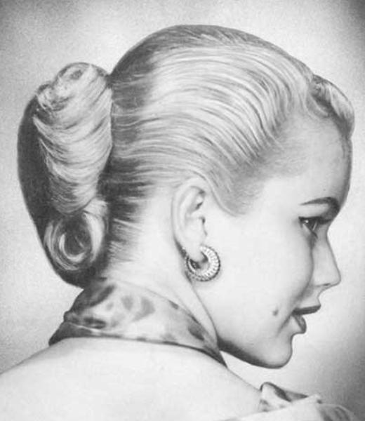 1950 S French Twist Joyas
