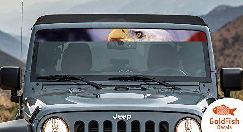 Jeep Wrangler Hood Factory Outline Stickers Vinyl Decals