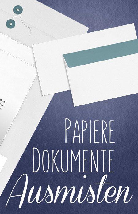 platz da papierkram aufbewahrung von dokumenten pinterest ausmisten. Black Bedroom Furniture Sets. Home Design Ideas