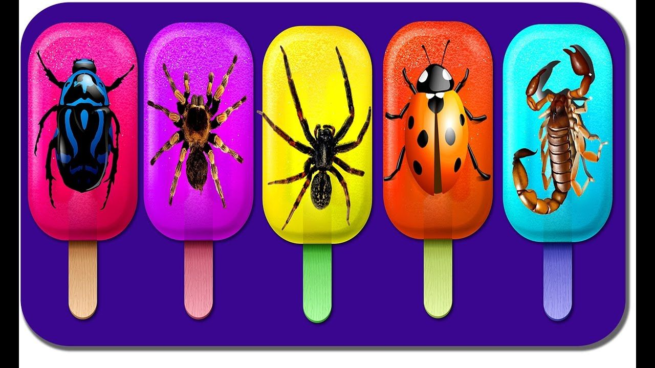 INSECT ICE CREAM FINGER FAMILY NURSERY RHYME DADDY FINGER