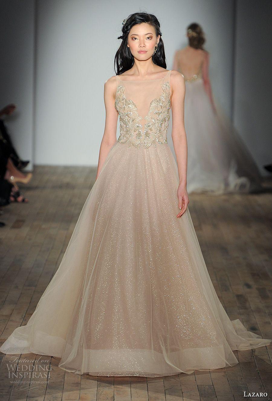 Lazaro Fall 2017 Wedding Dresses — New York Bridal Fashion Week ...