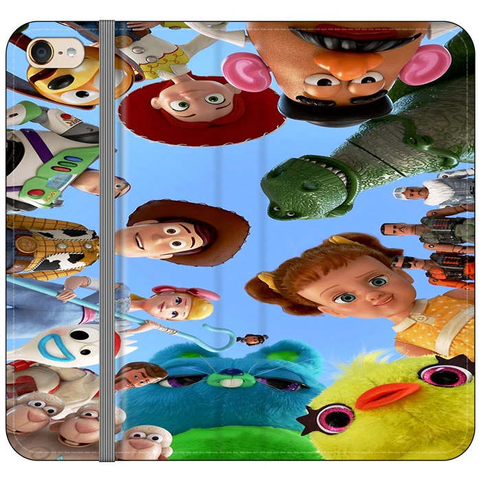 Toy Story 4 Photoshoot With Friends Character iPod 6 Flip Case | Frostedcase