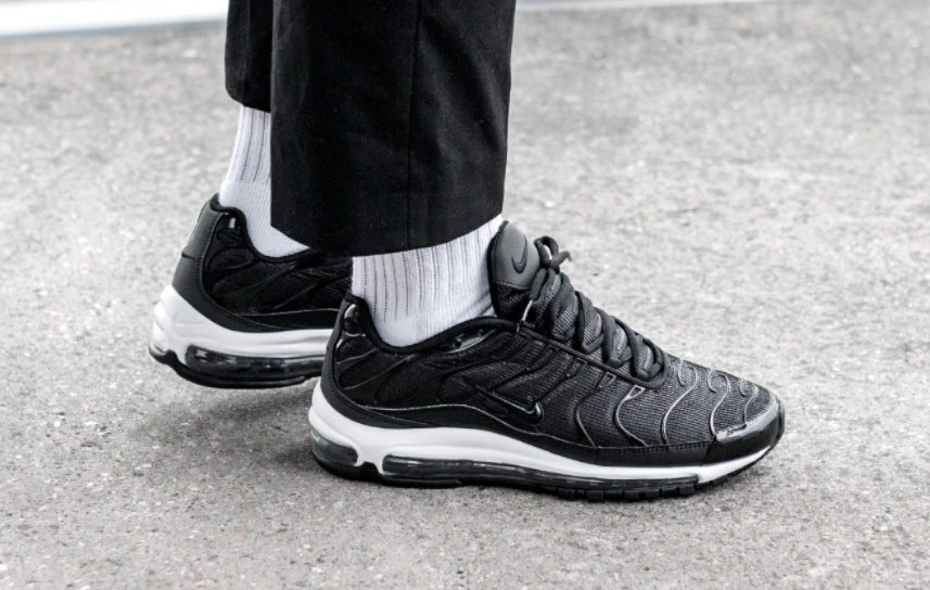wholesale dealer 9693b b4663 Nike Air Max 97 Plus Black White (Tune Up) Arriving Next Week