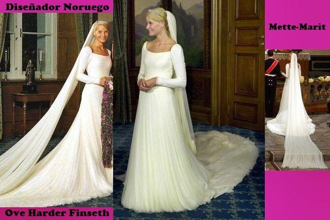 mette marit,vestido de novia | boda principe haakon magnus de