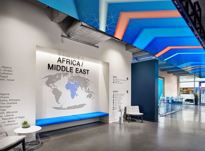 Indeed Office by Specht Architects and Spector Group and STG Design