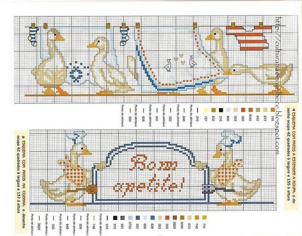 Juste Cross Stitch Patterns (1227 p.)   En savoir Crafts est facilisimo.com