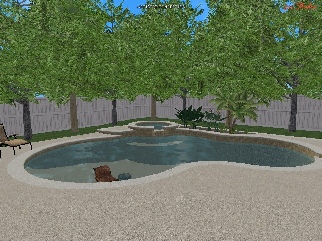 Swimming Pool Design Ideas in 3D | 3D Designs | Pinterest | Pool ...