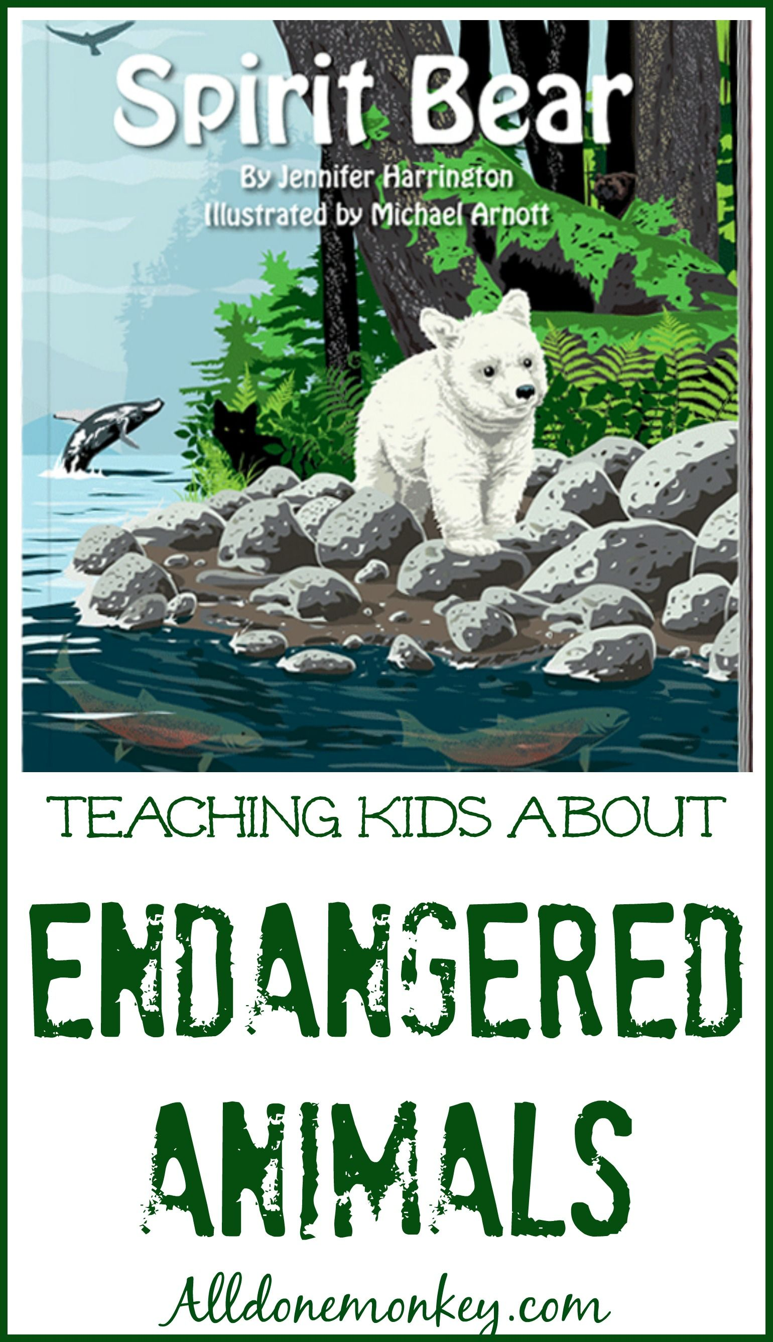Spirit Bear Teaching Children About Endangered Animals