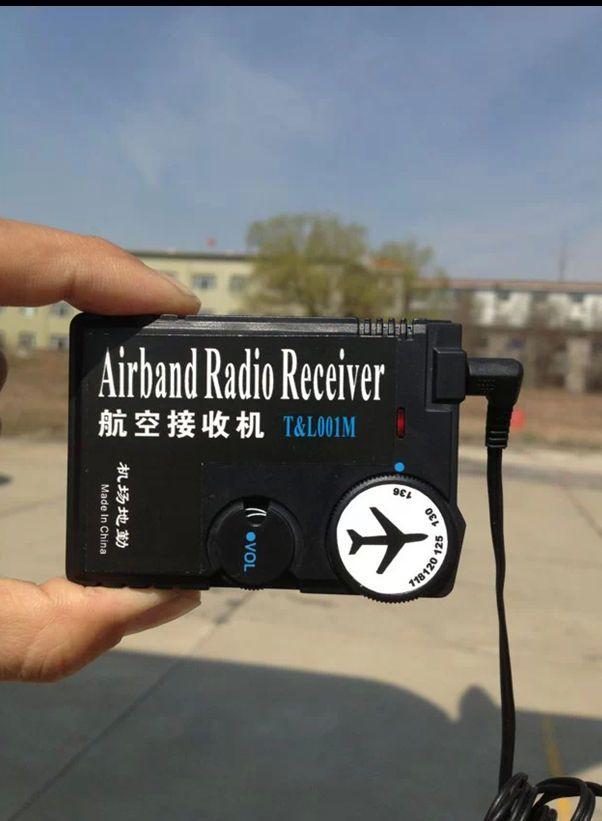 New 118MHz-136MHz air band radio, aviation band receiver #no | Radio