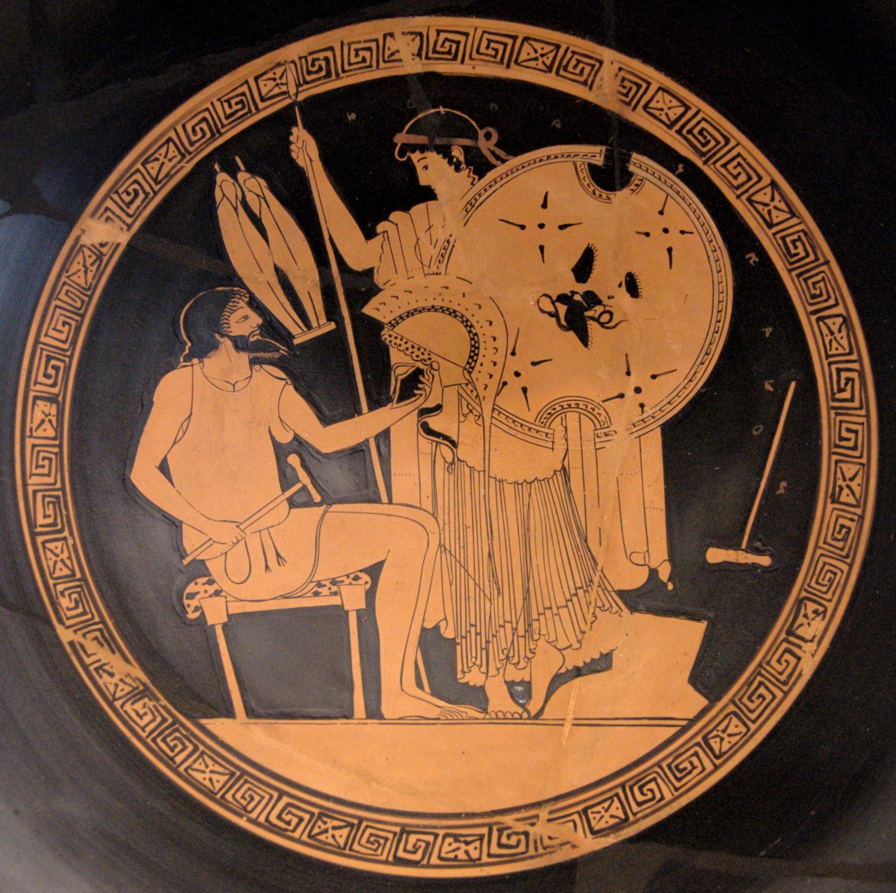 achiles shield in the iliad essay Sample a+ essay how to cite this sparknote  although achilles possesses superhuman strength and has a close relationship with the  more characters from the iliad.