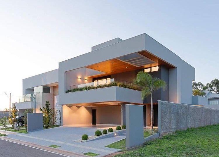 Dream home brazil en 2019 fachadas de casas modernas for Casa moderna haddoz