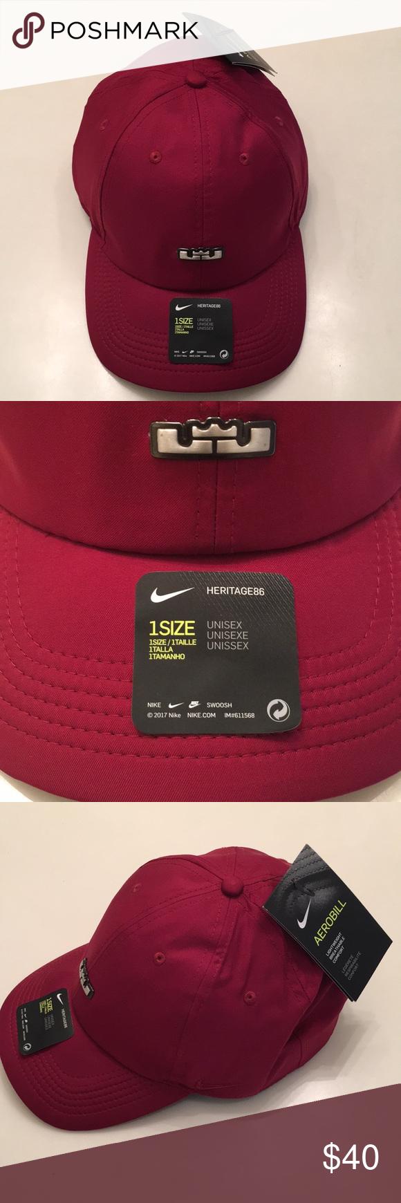 Nike Men s Lebron Cap The Nike Lebron Heritage 86 QS Adjustable Hat  features signature details on 8791fac539e