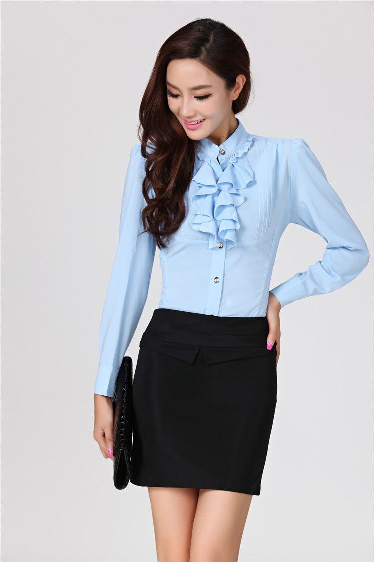 Spring-2014-Formal-Female-Office-Uniform-Style-Women-Suits-with ...
