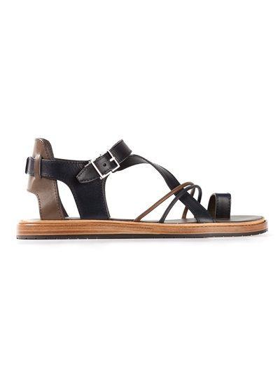 57ff1331334797 Dior Homme Strap Sandals