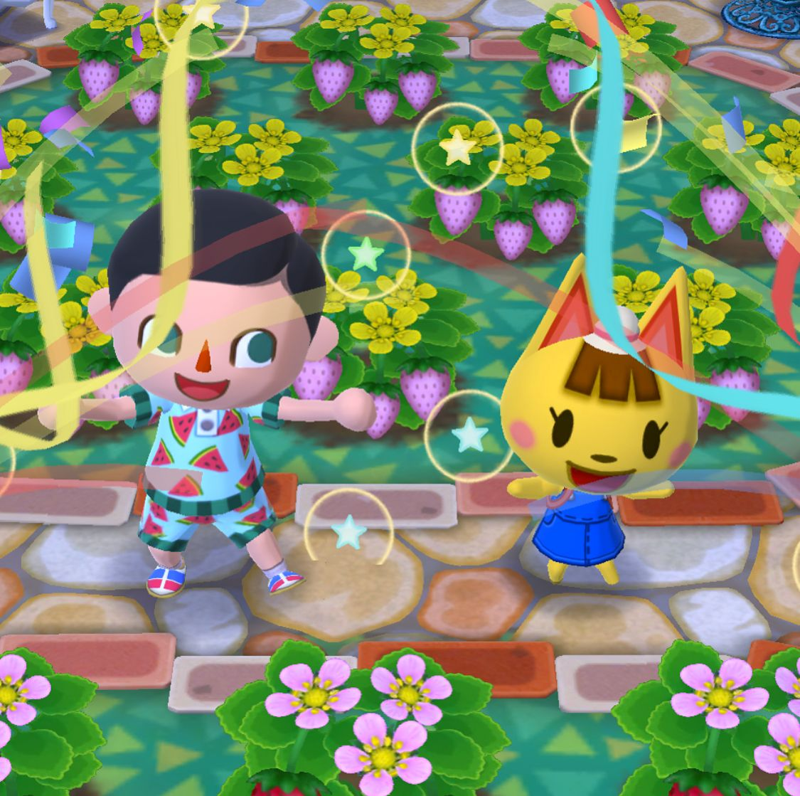 Reminder Animalcrossing Pocketcamp S Fruit Party With Katie