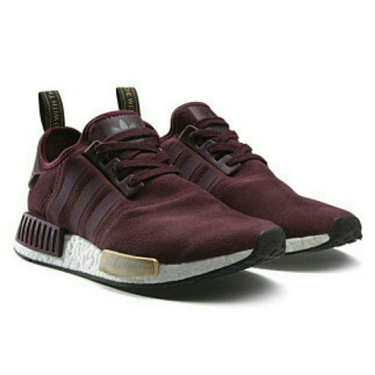 finest selection d5578 b7730 Marsala ADIDAS   Dark Red   Pinterest   Adidas nmd r1, Adidas shoes ...